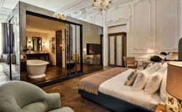 A room at the Soho House Istanbul