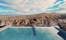 Room with pool Cappadocia