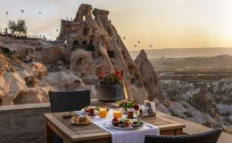 Breakfast with a view - Argos Cappadocia