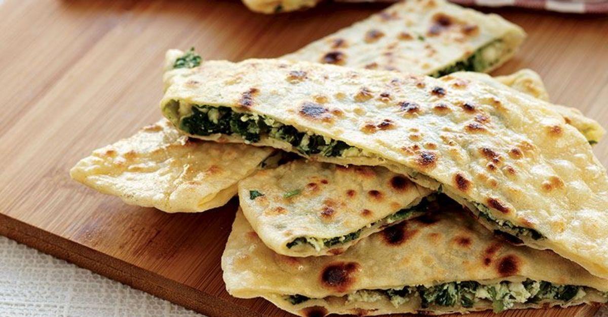 gözleme-épinard-fromage