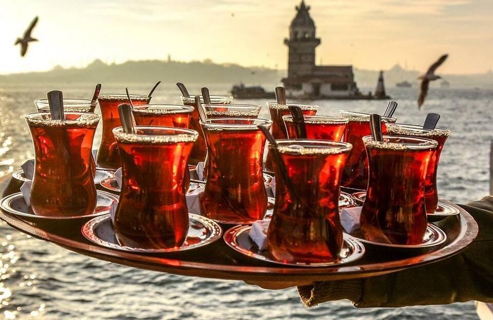 Le thé turc.