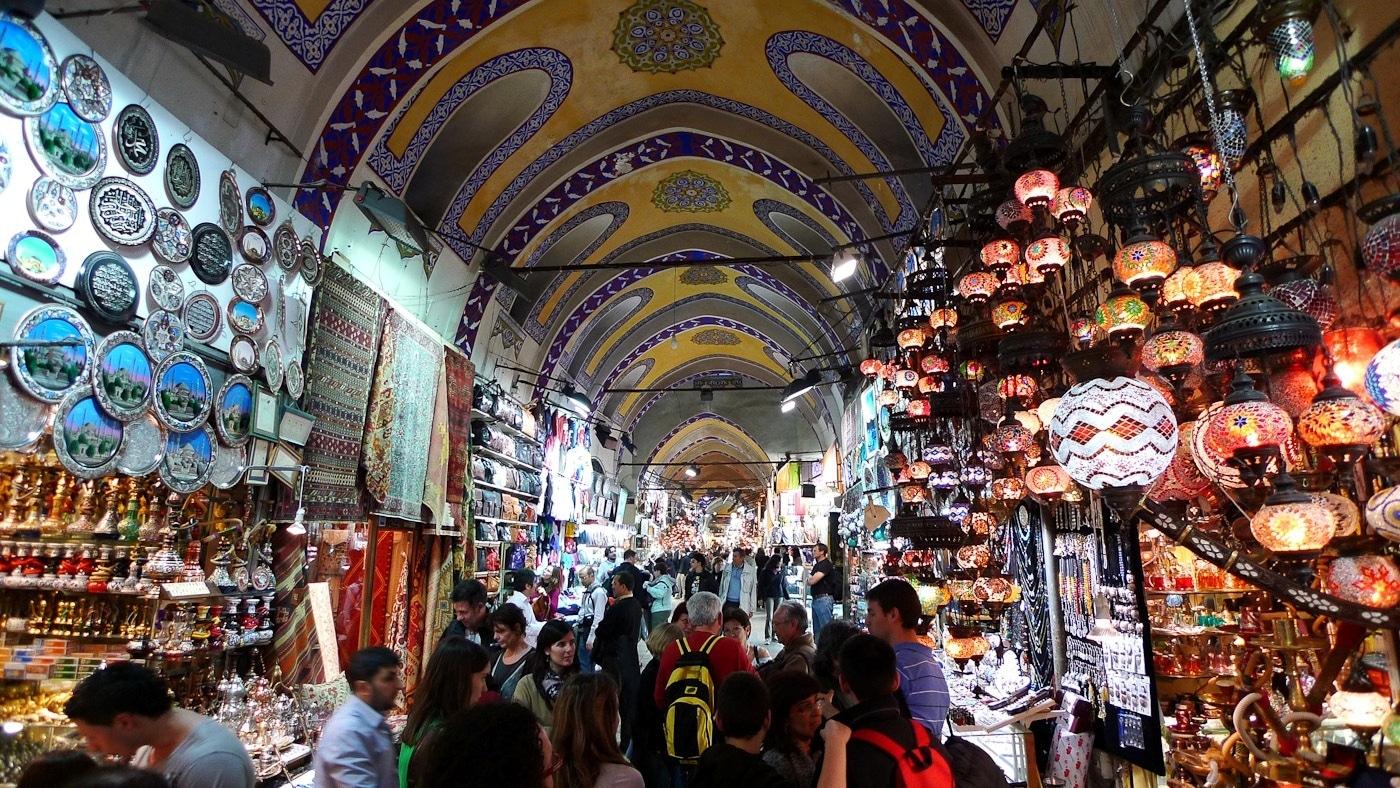 Le Grand Bazar d'Istanbul.
