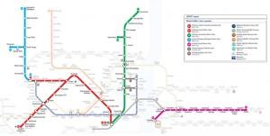 Plan du métro Istanbul