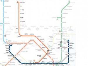 Plan tramway Istanbul