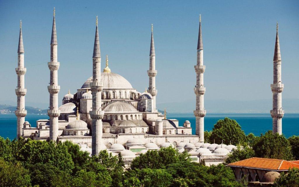 La Mosquée Bleue.