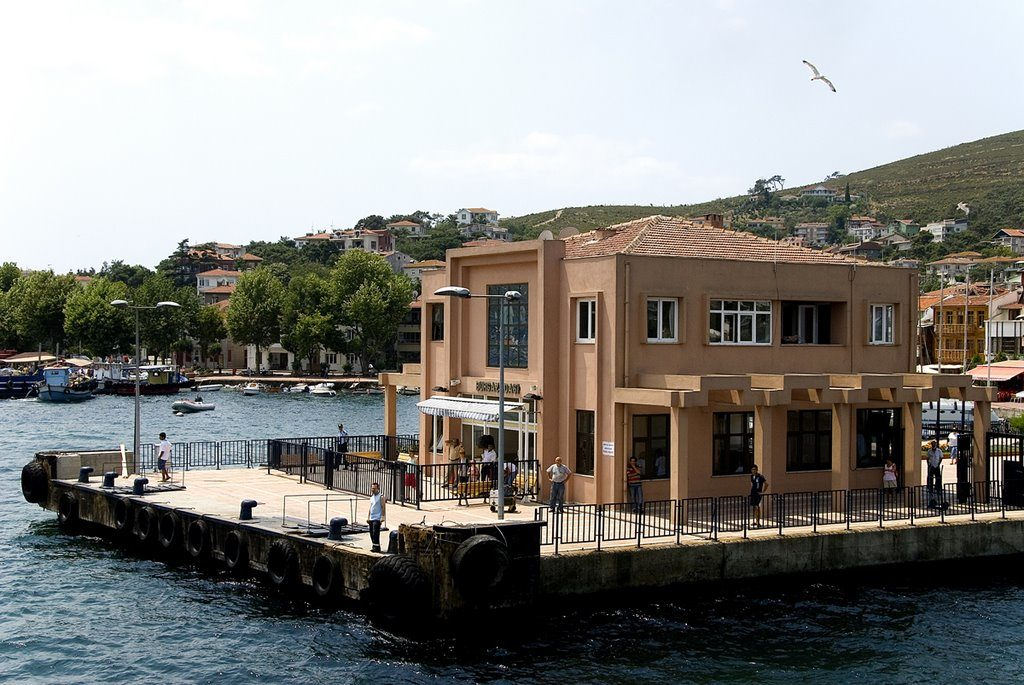 L'embarcadère de Kınalıada.