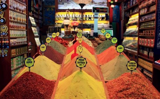 Les épices de la cuisine turque