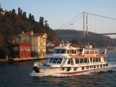 Promenade en bateau à Istanbul