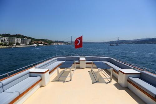 Le flybrige vous offrira une vue imprenable sur les palais et les yalıs du bord du Bosphore
