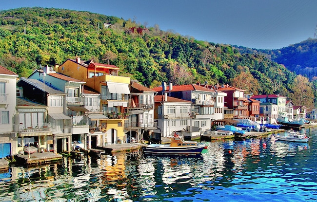 Le petit village d'Anadolu Kavağı