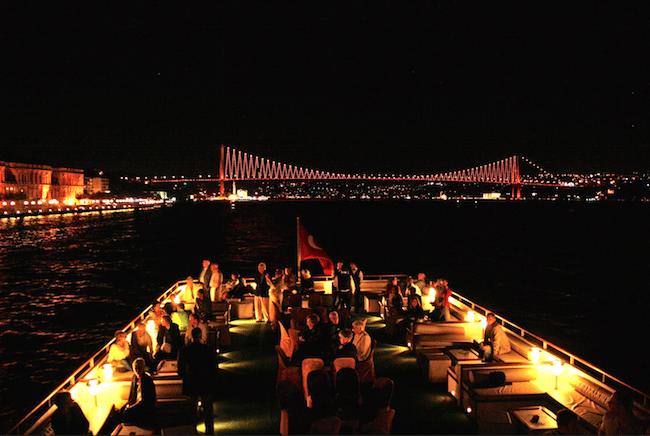 New year cruise istanbul