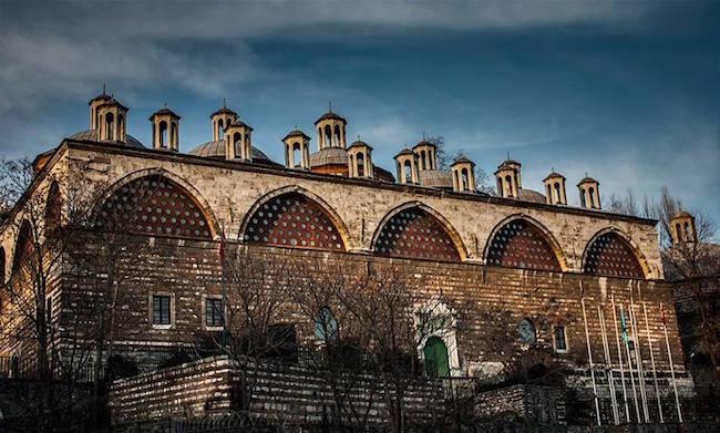 Le centre culturel de Tophane-i-Amire de l'université des beaux-arts Mimar Sinan.