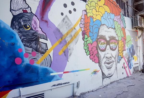 Le graffiti, véritable art dans le quartier de Karaköy.