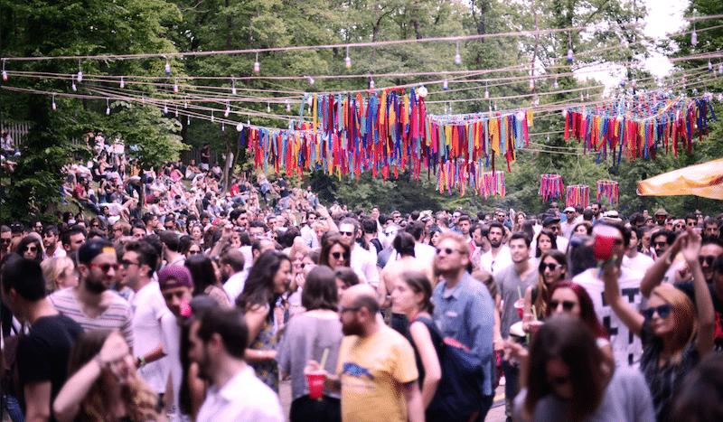 Le Chillout festival de l'année dernière