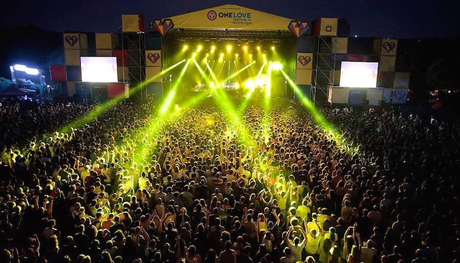 Le festival One Love