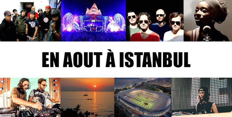 Que faire quoi voir istanbul l 39 agenda du mois d 39 aout 2017 - Quoi semer en aout ...