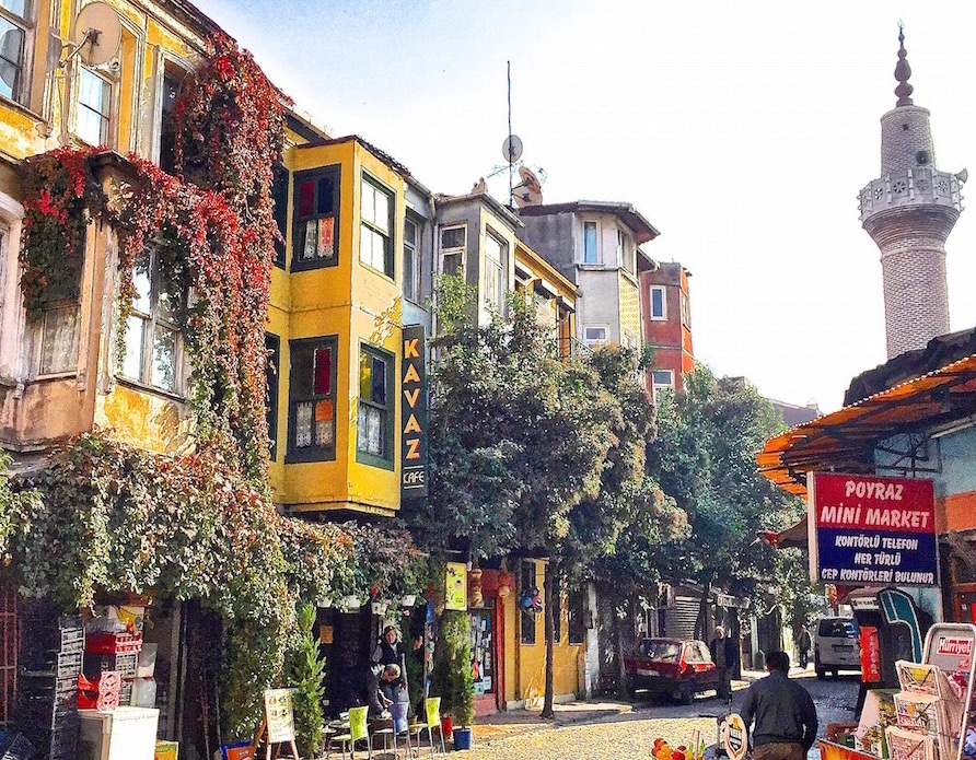 Discover the contrats of Istanbul