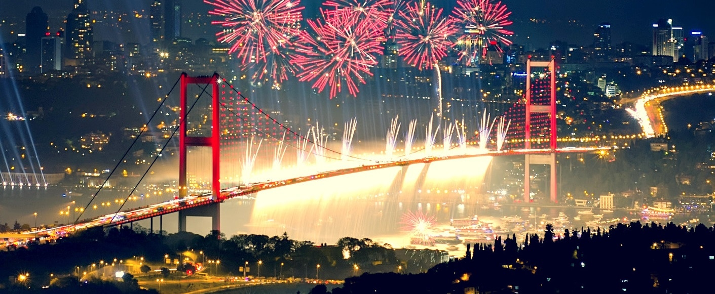 where to celebrate the new year 2018 in istanbul