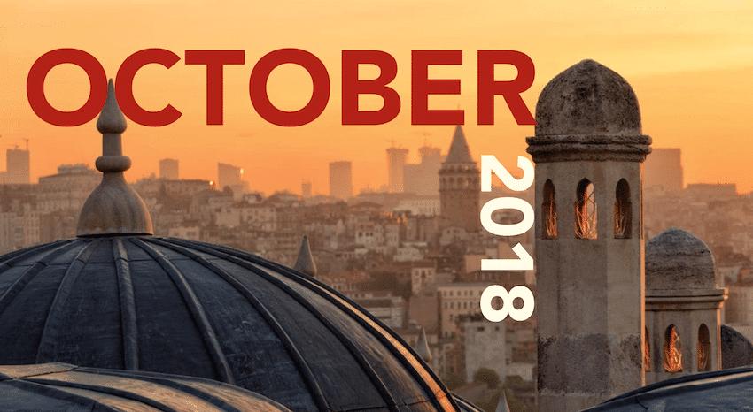 In October in Istanbul