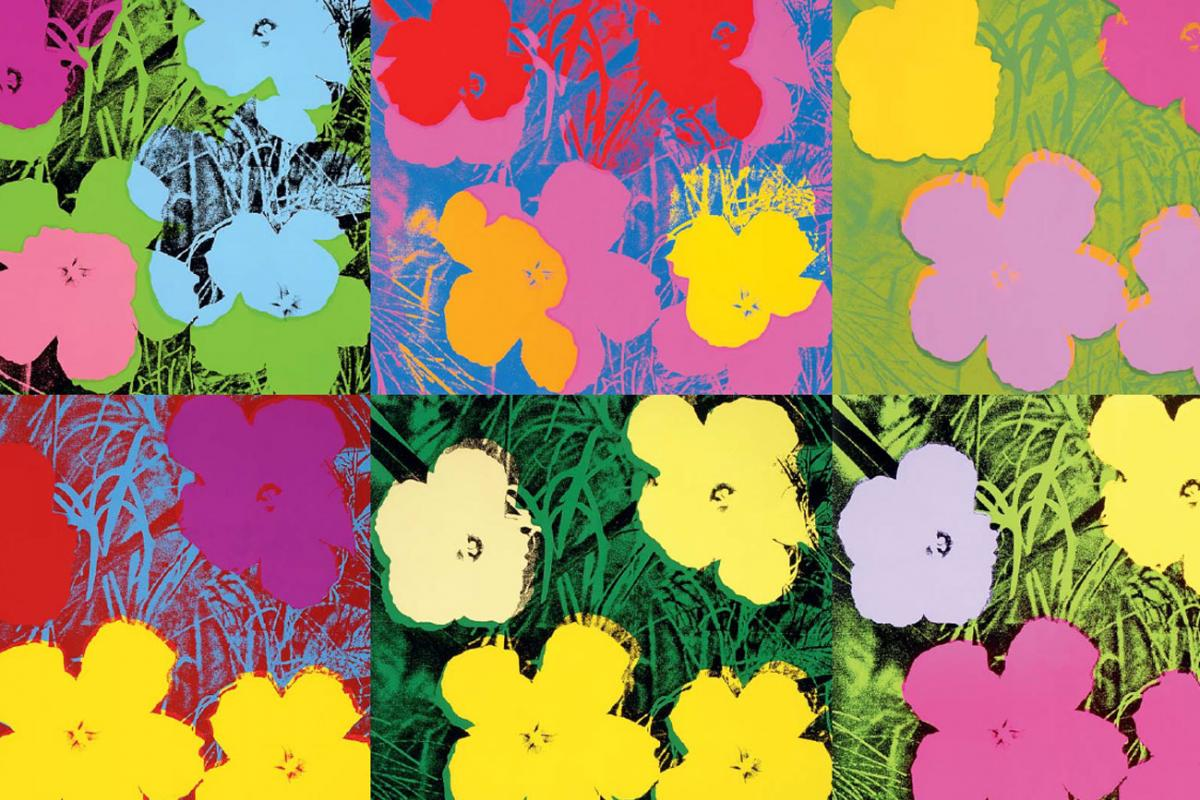 "Andy Warhol, ""Flowers"", 1964"